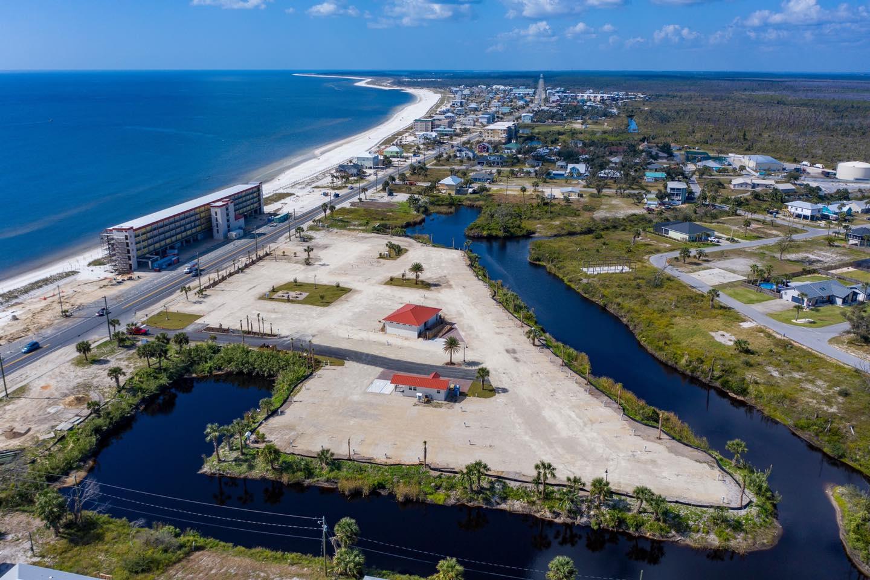 An Aerial Image of El Governor RV Park.