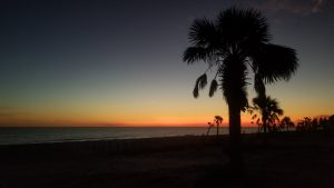 Image of Mexico Beach Sunset.